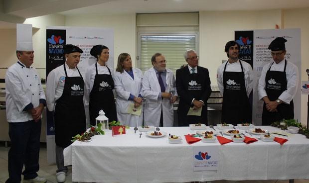 Tres hospitales de Madrid tendrán un menú de 'alta cocina' en Nochebuena