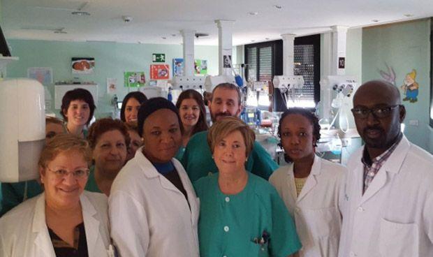 Tres sanitarios senegaleses se forman sobre Neonatología en Zaragoza