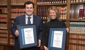 TÜV SÜD certifica los sistemas de gestión de la firma De Lorenzo Abogados