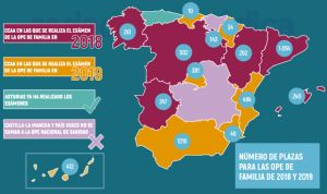 Últimos datos: 5.084 plazas para Medicina de Familia en la OPE nacional