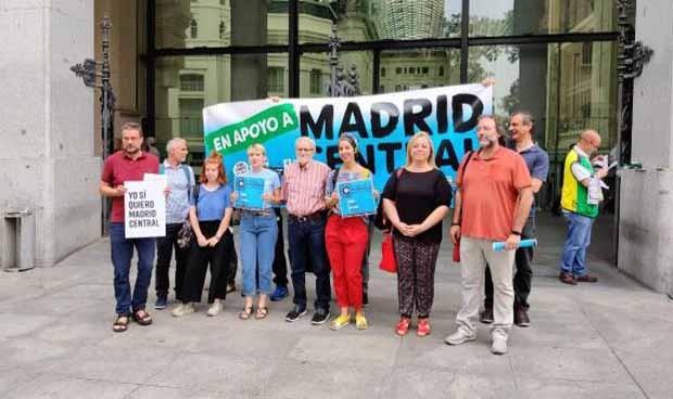 Un asesor de Carcedo lidera la lucha por Madrid Central