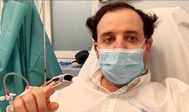 Un director general de Sanidad de Madrid, hospitalizado por Covid-19