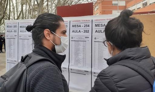 Un examen MIR 2022, ¿sin mascarilla?