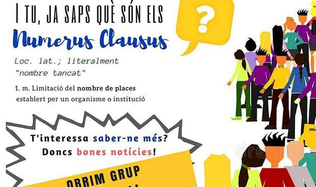 Un grupo de WhatsApp contra los 'númerus clausus' en Medicina