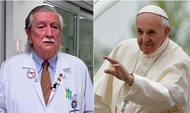 Un médico con nombre de superhéroe para el Papa Francisco