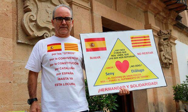 Un médico, en huelga de hambre contra la independencia de Cataluña