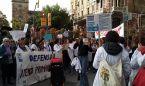 """Un médico, en las protestas de Cataluña: """"La gente está despertando"""""""