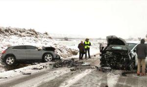 Un médico fallece por el temporal de nieve cuando iba a su centro de salud