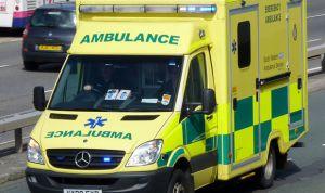 Un mensaje en el parabrisas de la ambulancia deja atónitos a los sanitarios