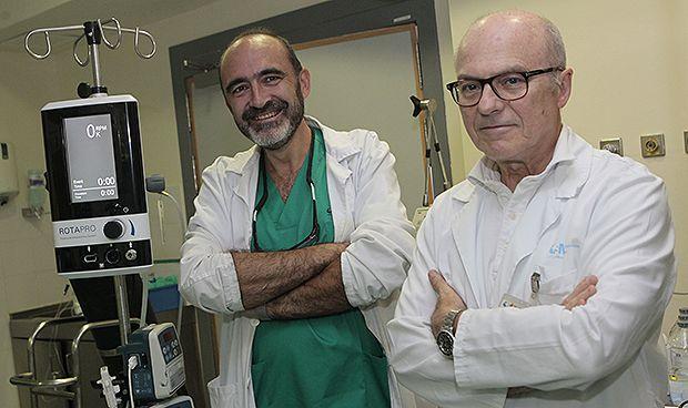 Un nuevo sistema incorporado en La Paz simplifica la aterectomía rotacional