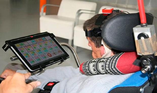Un software ayuda a pacientes con parálisis cerebral a manejar un ordenador