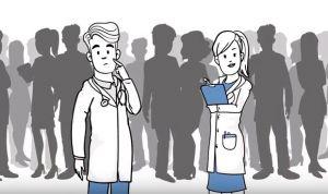 Un vídeo muestra cuál es la relación del médico internista con el paciente