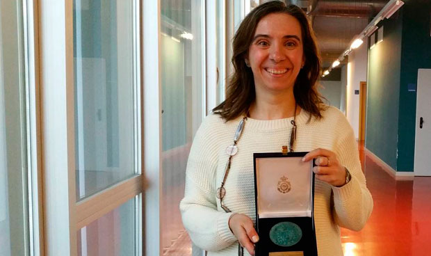 Una ingeniera del I3A, premiada por sus avances en Biomedicina