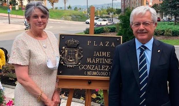 Una plaza con nombre de neumólogo en Oviedo