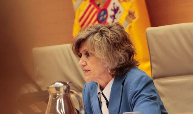 Una tormenta altera la agenda oficial de la ministra Carcedo
