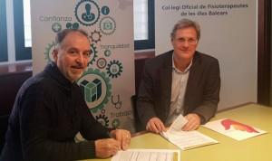 Uniteco firma una póliza de Vida con el Colegio de Fisioterapeutas balear