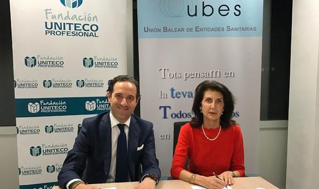 Uniteco y UBES fomentan la investigación clínica de la privada
