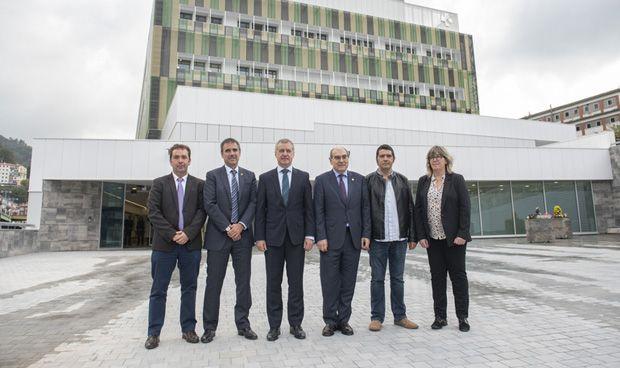 """Urkullu: """"El Hospital de Eibar es una apuesta por un servicio de calidad"""""""