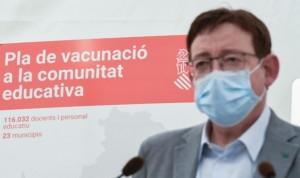 La Comunidad Valenciana acelera con la vacuna citando a los menores de 50