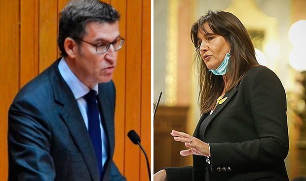 Vacuna Covid o multa: el único apoyo a Feijóo en Madrid es el de Junts