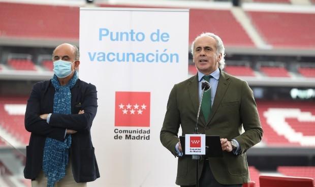 Madrid anuncia fecha para vacunar de Covid a personas de 77 a 79 años