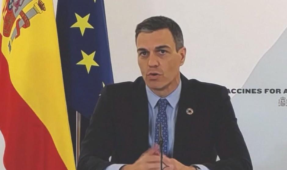 """Sánchez pide """"acelerar la producción de vacunas Covid y su reparto justo"""""""