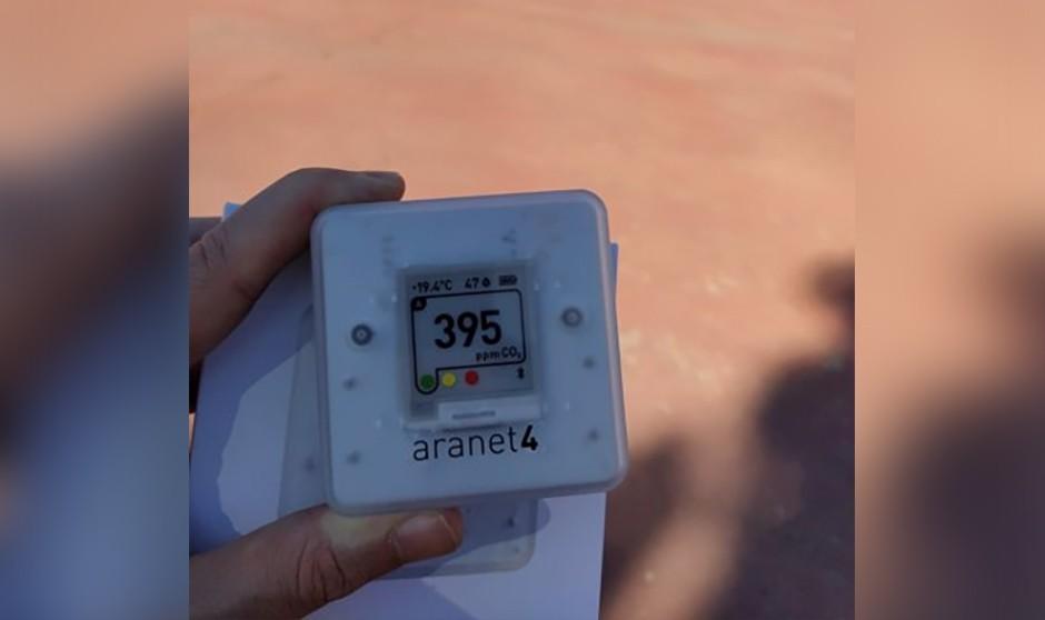 Ventilación y Covid en hospitales: ¿Son útiles los medidores de CO2?