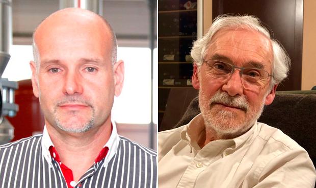 Luis Mosquera y Vicente García