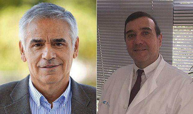 Vicente Gasull y Fernando García Romanos