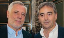 Víctor Aznar y Manuel Cascos