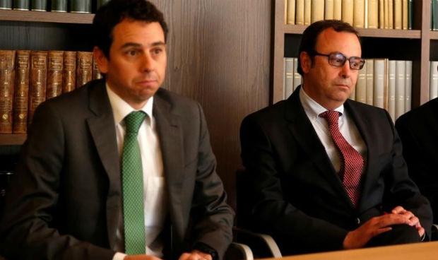 Victor Grifols Deu y Ramón Grifols
