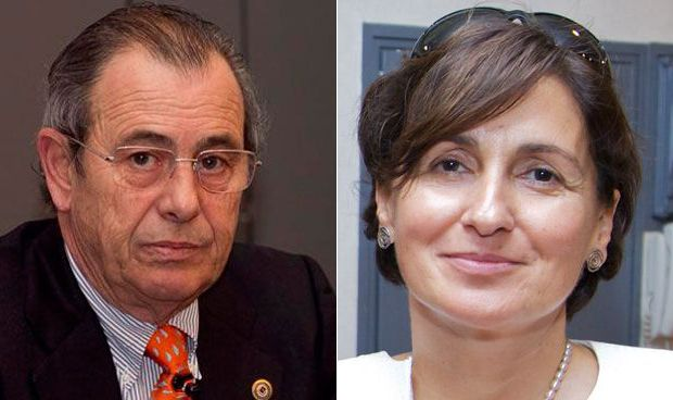 Víctor Grifols e Ildiko Ozorai