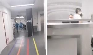 Vídeos negacionistas en hospitales: prisión de 1 a 5 años y multas de 400€