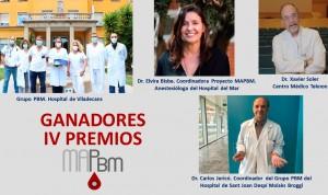 Vifor Pharma premia 4 centros catalanes en gestión de sangre del paciente