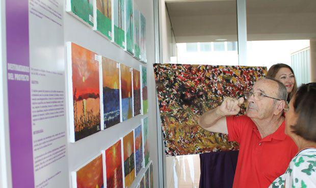 Vinalopó estimula a pacientes con alzhéimer a través de la pintura al óleo