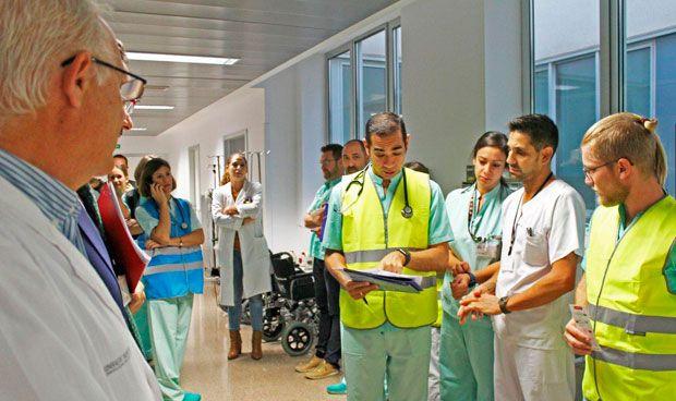 Vinalopó realiza un simulacro de accidente con múltiples víctimas