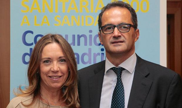 Virginia Donado-Mazarrón e Ignacio Martínez Jover