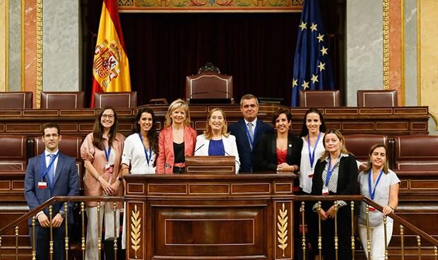 Visita al Congreso de los estudiantes del Máster en Derecho Sanitario