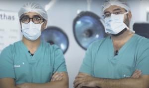 Vithas elimina la hiperhidrosis en minutos con una cirugía innovadora