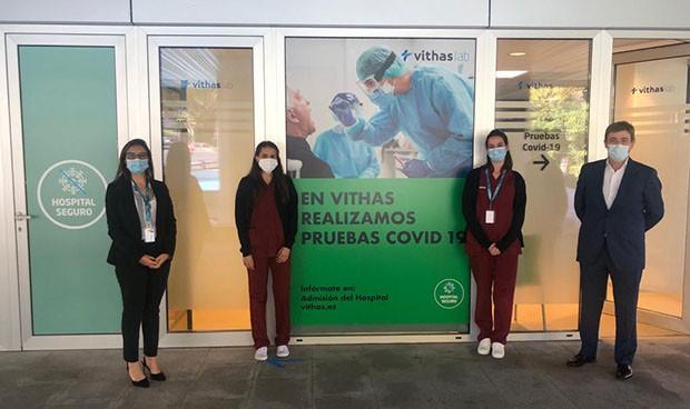 VithasLab abre en Madrid un centro especializado en pruebas de Covid-19