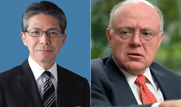 Yoshihiko Hatanaka e Ian Read