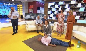 """Zapeando, acusado de """"ridiculizar"""" a una médica durante un simulacro de RCP"""