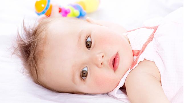 Bebés a los nueve meses