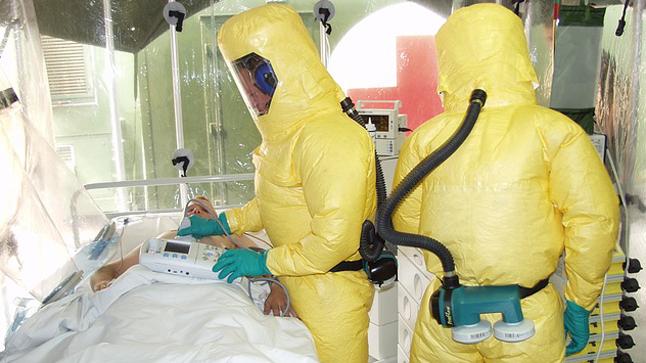 Contagios del Ébola