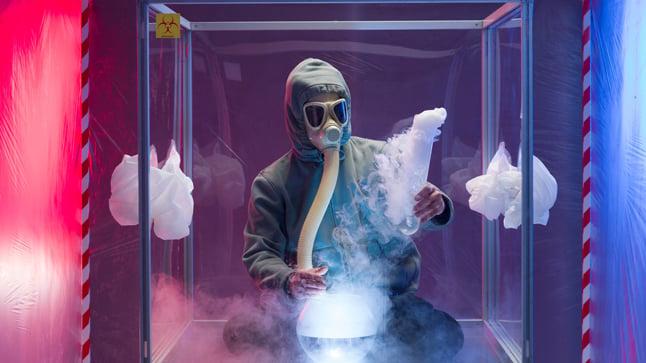 Síntomas y tratamiento de las quemaduras químicas