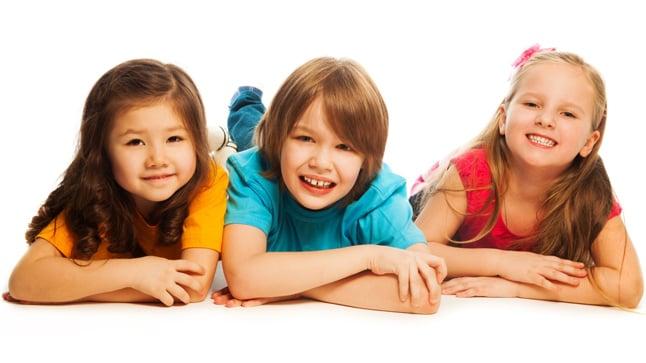 Niños a los seis años