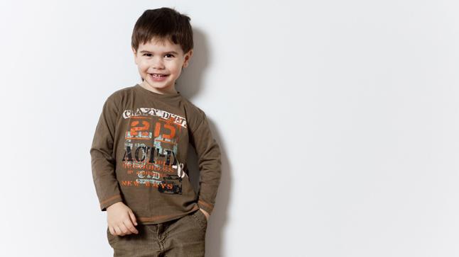 Niños a los tres años